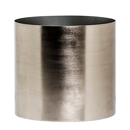 Bild av Bloomingville Kruka Silver Metall 18 cm