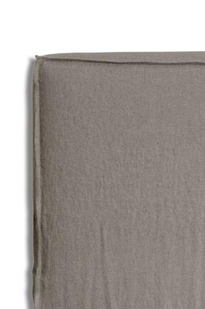 Sänggavelklädsel Mira Loose-fit stone 90x140