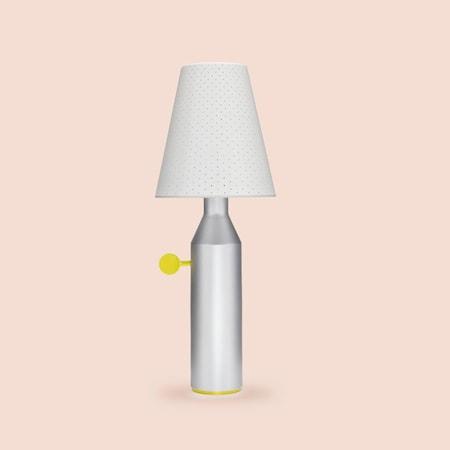 Bild av La Chance Vulcain bordslampa stål