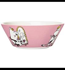 Mumin skål 15 cm Snorkfröken rosa