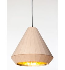WL-25 Wooden light taklampa