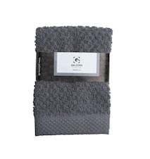 Håndduk 100% Bomull Grå 30x30 cm