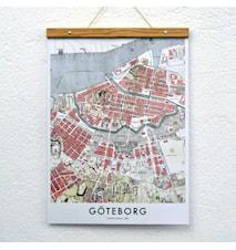 Göteborg map poster no 2