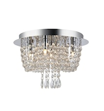 Jade Loftslampe Krom IP21
