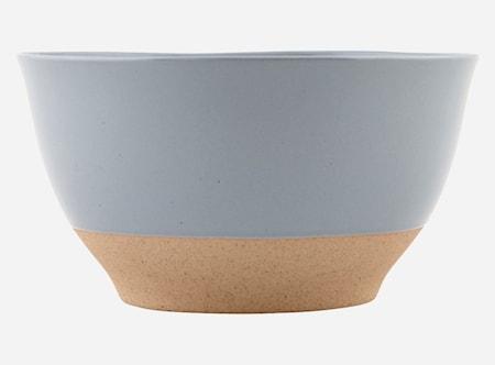 Skål Solid Blå Ø 14 cm H 7,6 cm