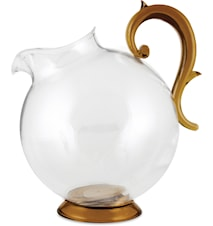 Aqua Pitcher 1 L  GOLD & CLEAR