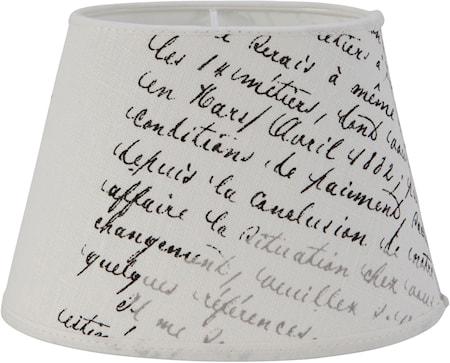 Bild av PR Home Oval Lampskärm Lintext 25 cm