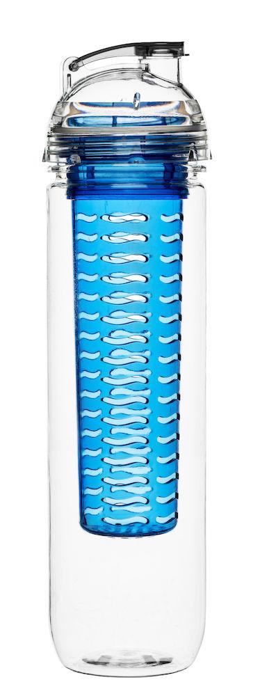 Fresh flaska med fruktkolv blå