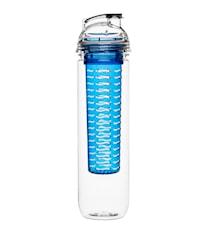 Fresh flaske med frugtrum blå