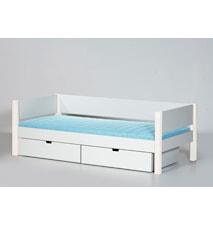 Sif säng – Vit