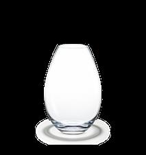 Cocoon Vase, klar, H20,5 cm