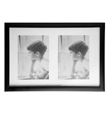 Tavelram Svart/Glas 35x23,5 cm