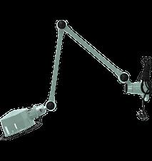 Lak L4401 Vägglampa 40+40 cm m. brytare - Matt