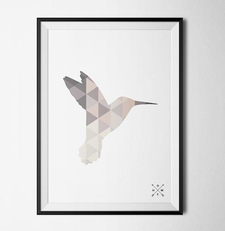 Bild av Konstgaraget Hummingbird light poster
