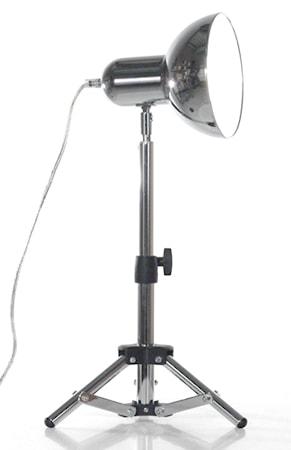 Bild av Globen Lighting Bordslampa Scoop Krom