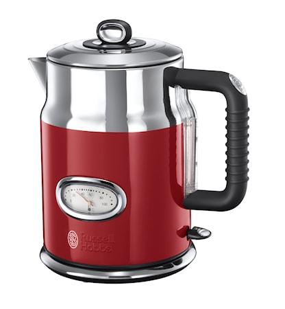 Attraktiva Köp Retro Vattenkokare, 1,7 liter, Röd online på KitchenTime UY-67