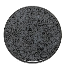 Noir Tallerken Sort Stentøj 24 cm