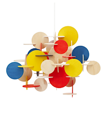 Bau Lampa Multifärgad S