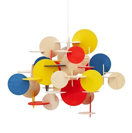 Bild av Normann Copenhagen Bau Lampa Multifärgad S