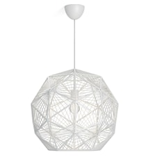 myLiving Mohair Lampe Hvid
