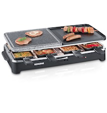 PartyGrill Raclette & Grillsten