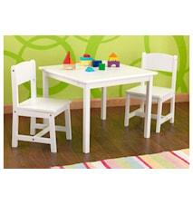 Aspen bord & stolar-set
