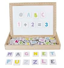 Magnetplade ABC