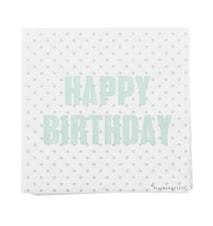 Servett Happy Birthday 20st