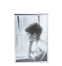 Tavelram Glas/Silver 21x30 cm