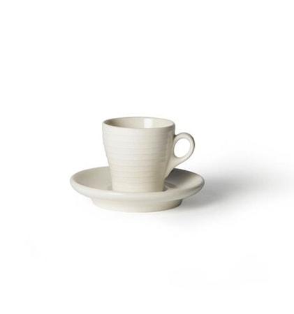 Kjøp Blond Kopp med fat Espresso Hvit Stripe. Kjøkkenprodukter hos ... cd76c793ab125