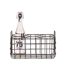 Flaskeholder, 6. 31x21x19 cm - Sort