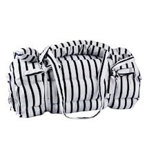 Handduk Randig Vit/Blå 60x170 cm