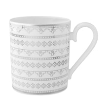 White Lace Mugg 0,35l
