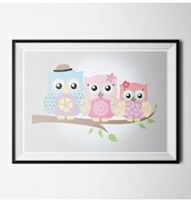 Happy owls 2 poster