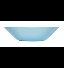 Teema tallrik djup 21 cm ljusblå