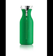 Kylskåpskaraff med lock och neopren Jolly green 1,0 l
