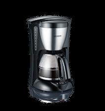 Kaffebryggare 10 Koppar Svart/Rostfri