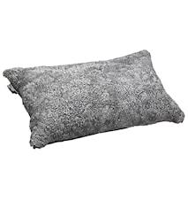 Ace Medium Pude fåreskind/uld 40x60 - Scand Grey/Black