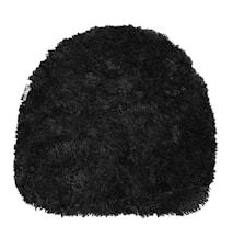 Oz Fåreskindshynde 38x40 cm - Black