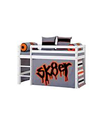 Basic loftsäng halvhög – Skater sängpaket