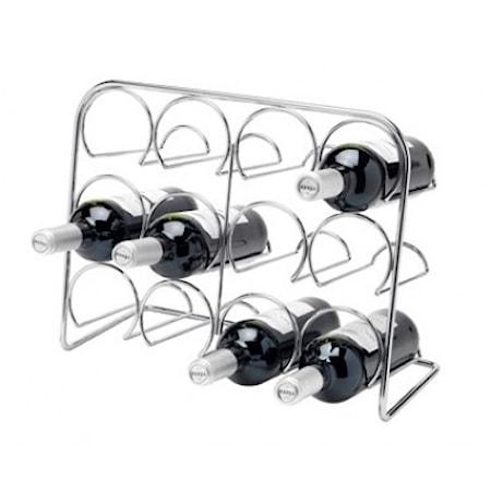 Hahn Kitchenware Pisa Viiniteline 12 Pulloa Kromi