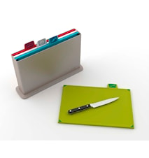 Index Chopping Board Large Silver