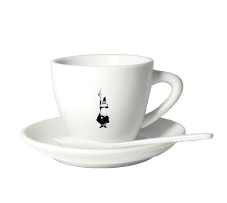Espressokopp m.fat & sked