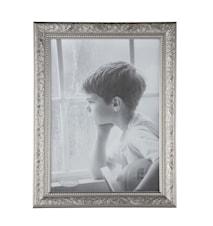 Tavelram Glas/Silver 30x21 cm