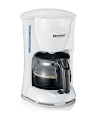 Kaffebryggare 4-Koppar Vit