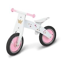 Rosa springcykel