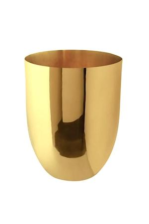 Bild av Gusums Messing Vas i mässing, 14 x 11 cm