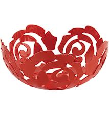 La Rosa Fruktskål Ø21 cm Rød
