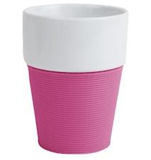 Mugg silikon, rosa