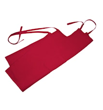 Förkläde röd